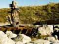 Burmi Wasserweg auf der Kanzelwand