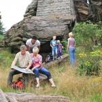 Rund um Bad Harzburg finden Familien viele spannende Naturerlebnisse für Jung und Alt.