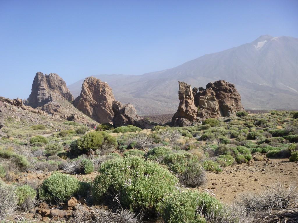 Ein kleiner Ausblick auf die Kraterlandschaft des Teide - Teneriffa.