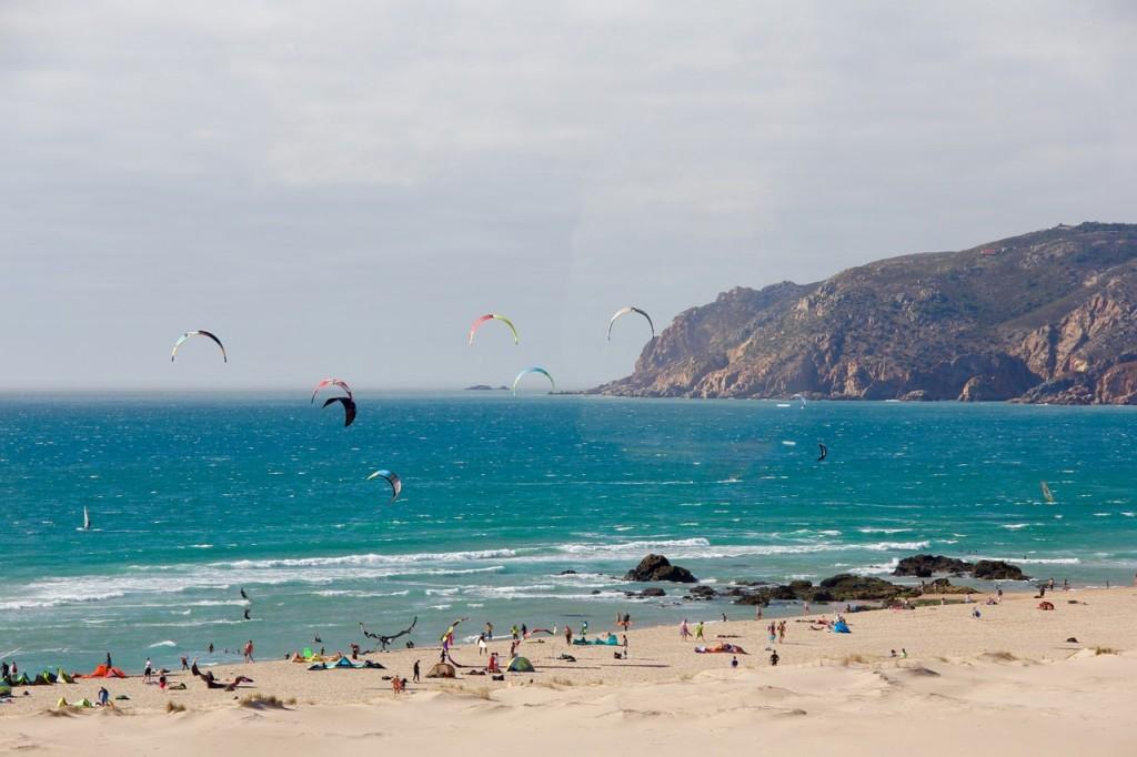 Kitesurfer Portugal