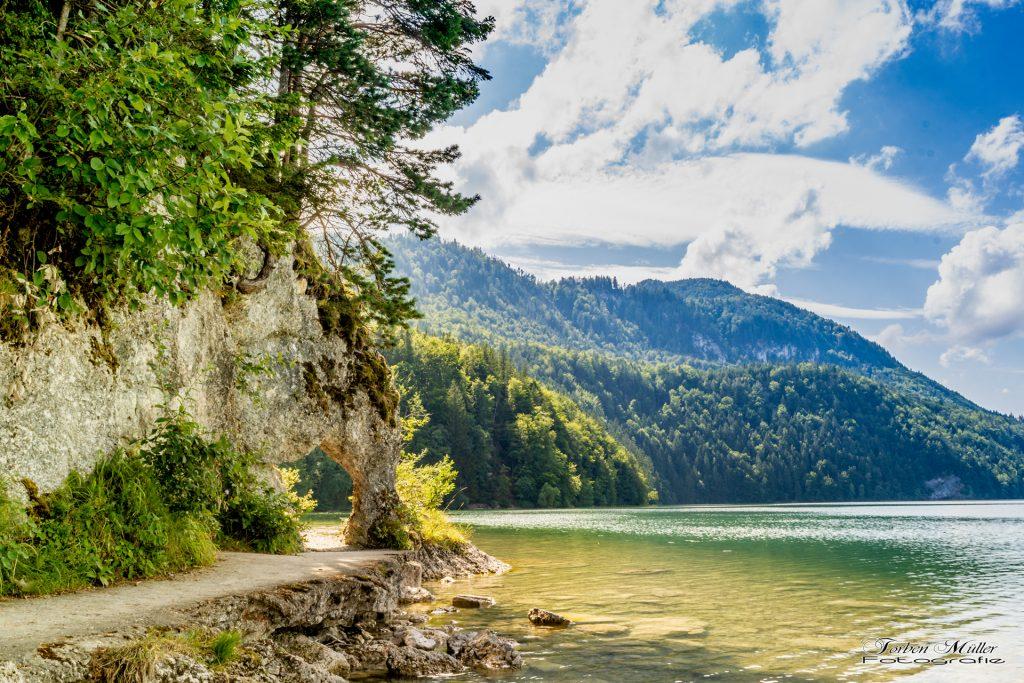 Felsentor beim Weißensee