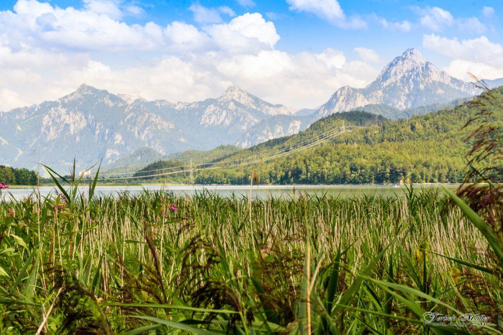Weißensee bei Füssen im Allgäu