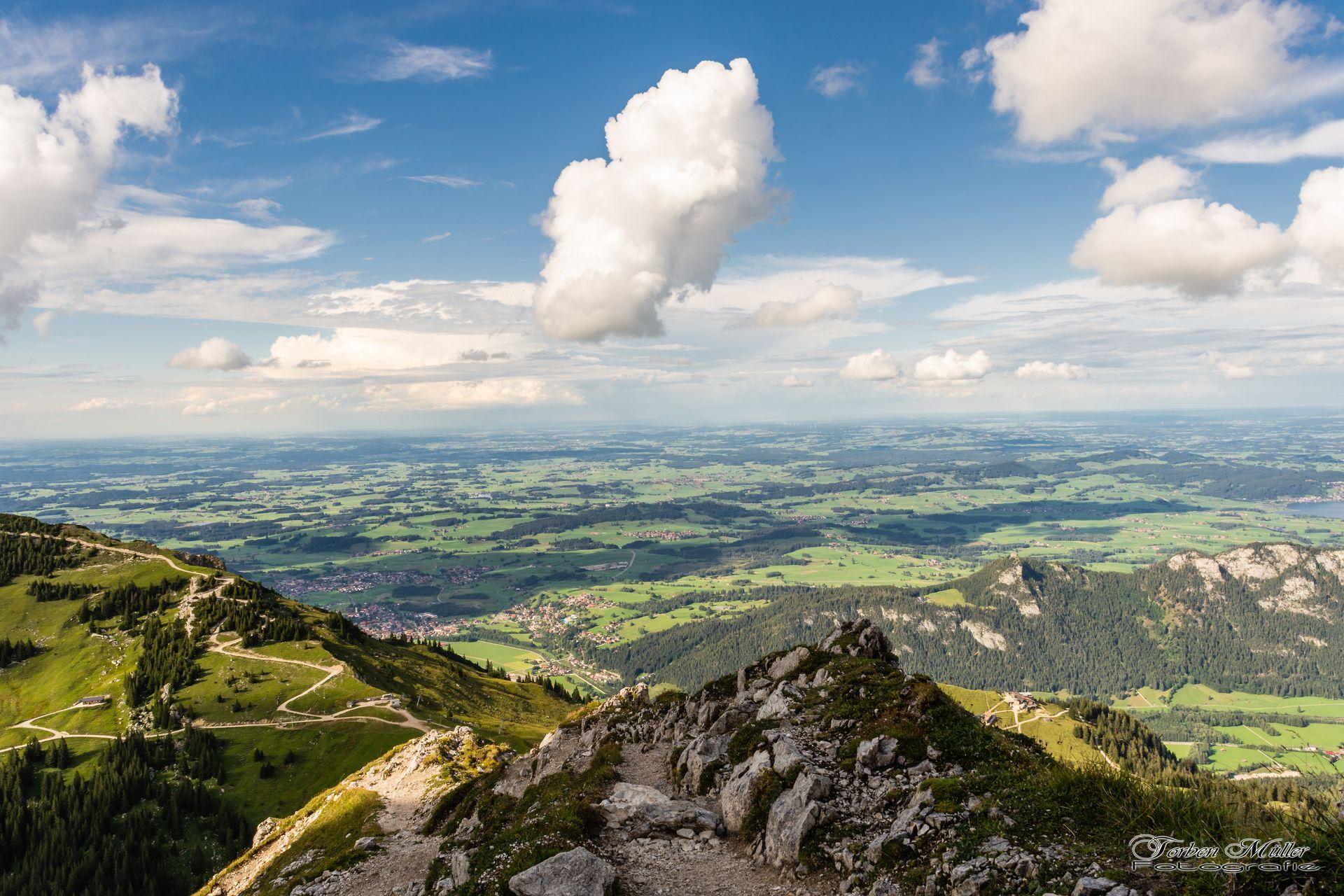 Traumhaft: Wanderung zum Aggenstein