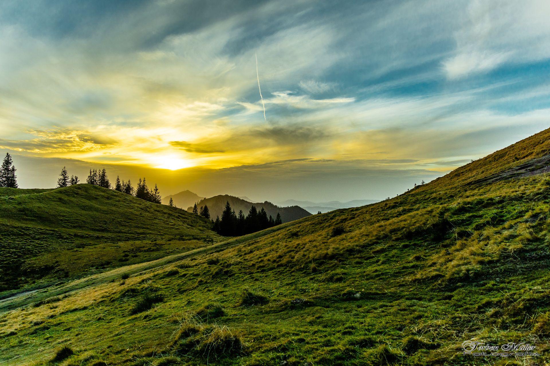 Tolle Wanderung zur Alpspitze und Edelsberg in Nesselwang